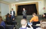 Pilietiškumo pamoka su Europos Parlamento nariu Petru Auštrevičiumi