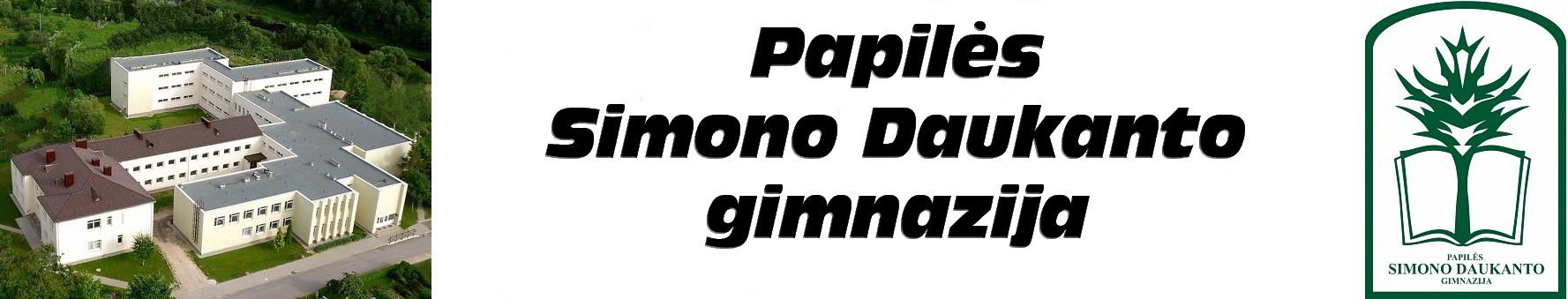 Papilės Simono Daukanto gimnazija