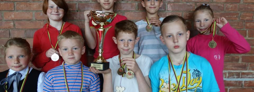 Rajono mokyklų pradinių klasių mokinių Olimpinės žaidynės