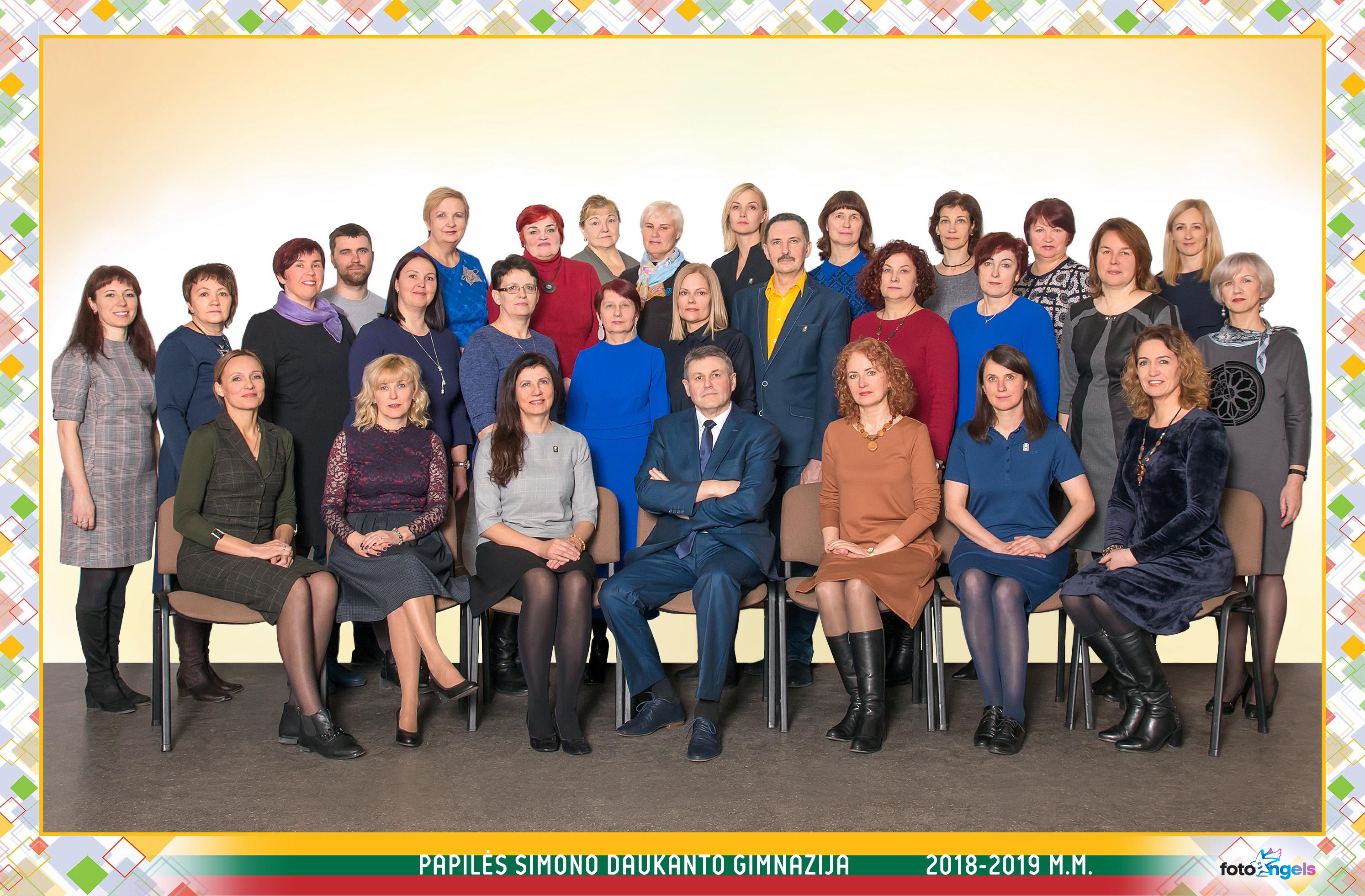 Mokytojai 2018-2019 m.m.