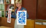 Integruota rusų kalbos ir dailės pamoka, kurią vedė viešnios iš Ukrainos