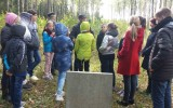 Penktokai aplankė žydų žudynių vietą Šiaudinės miške