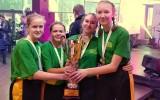 Gimnazijos mergaičių komanda Lietuvos krepšinio 3x3 finalinėse varžybose užėmė II-ąją vietą