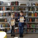 Diktantas bibliotekoje
