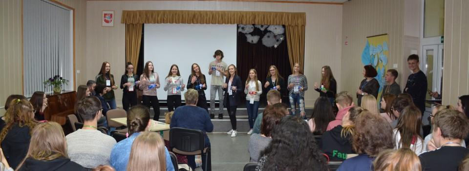 Patyriminio mokymosi diena Akmenės rajono 9 kl. mokiniams