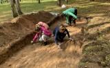 Archeologinėje ekspedicijoje