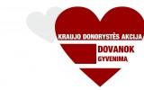 """Kraujo donorystės akcija  """"Dovanok gyvenimą"""""""