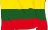 """Iškilmingas vėliavos pakėlimas. Projektas """"Dainuoju Tau, Lietuva"""""""
